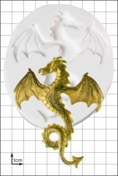 'Flying Dragon' Silicone Mould